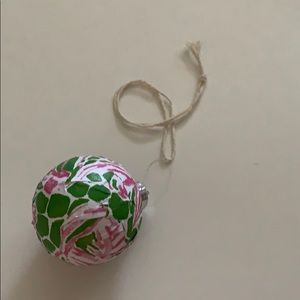 Lilly Pulitzer Handmade ornament